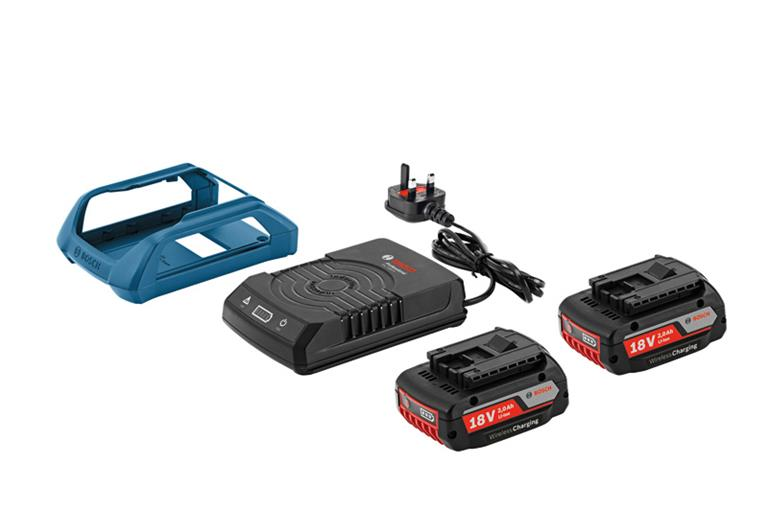 Bosch Wireles Charging Starter Kit C/W batteries