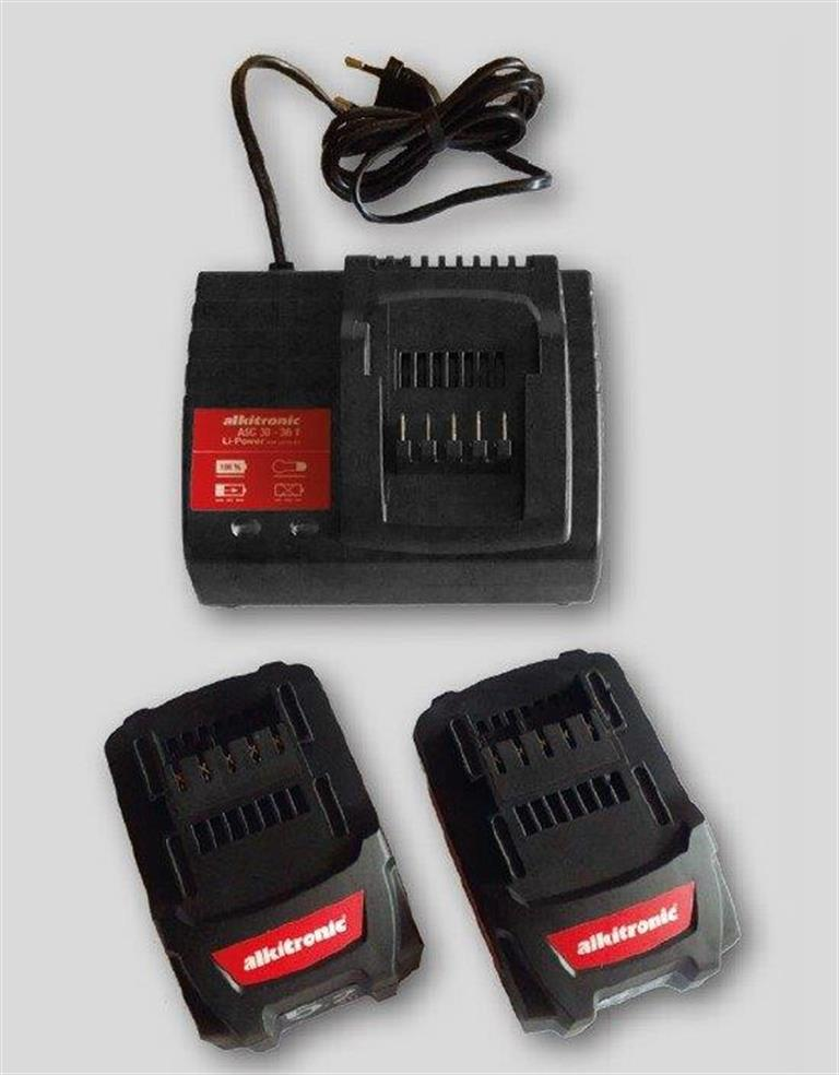Alkitronic EA2 Batteries and Charger