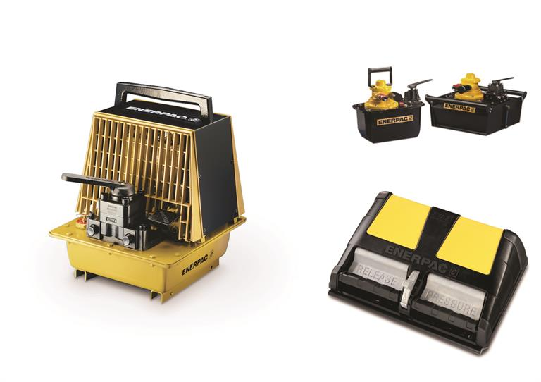 Enerpac Air Powered Hydraulic Pumps