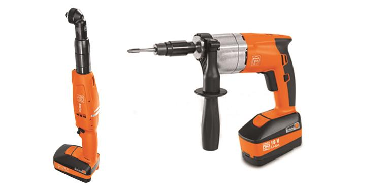 Fein Cordless Tools Screwdrivers, Angle Wrenches a